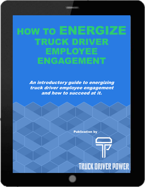 E-Book in iPad - How To Energize Truck Driver Employee Engagement - v2